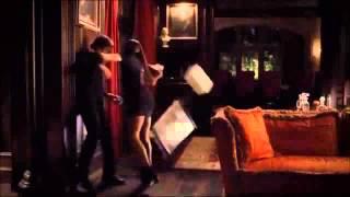 The Vampire Diaries Damon and Elena Love Scene