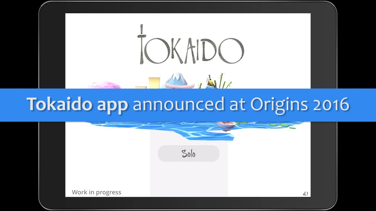 Tokaido App Announced!