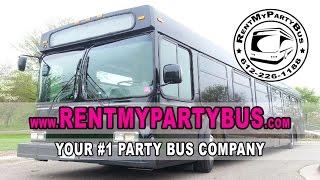 The Black Diamond Limo Bus - RentMyPartyBus, Inc.