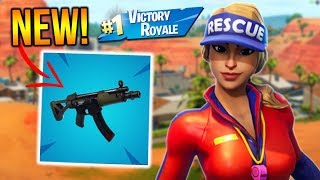 """Fortnite New """"SMG"""" Gameplay! // Top Player! (Fortnite Battle Royale)"""