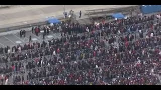 MASSIVE MAGA CROWD: HUGE President Trump Fans Ahead of Wildwood, NJ RALLY