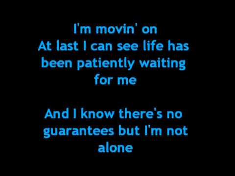 Rascal Flatts-I'm moving on lyrics
