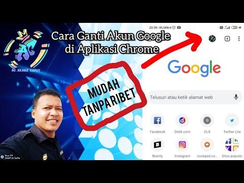 Cara Mengganti Akun Google Di Aplikasi Chrome Pada Android Youtube