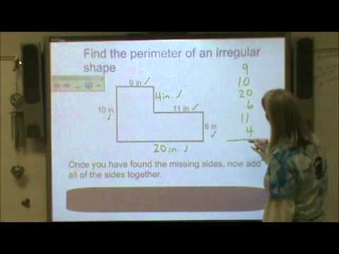 Area perimeter of irregular shapes youtube area perimeter of irregular shapes ccuart Gallery