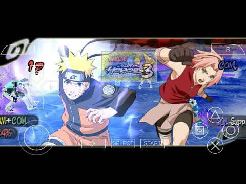 Hướng dẫn tải game Naruto heroes 3 – PSP android