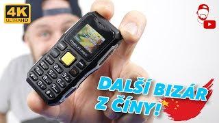 Další bizár z Číny 🇨🇳! Miniaturní odolný mobil Melrose S10 se vleze do dlaně! | #WRTECH [4K]