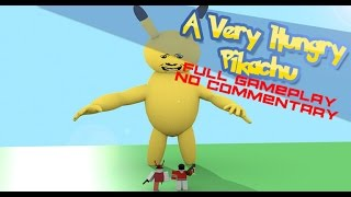 Roblox: A Very Hungry Pikachu - Full Gameplay - No Commentary