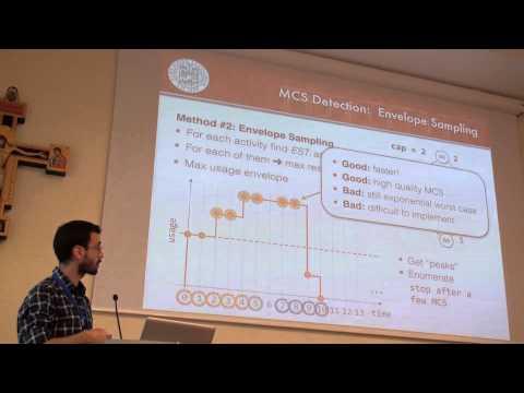 ICAPS 2013: Michele Lombardi - A Min-Flow Algorithm for Minimal Critical Set ...