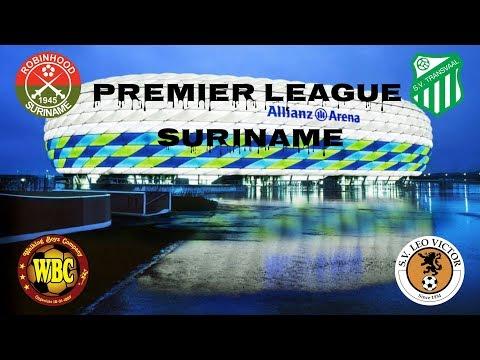 Maiores Campeões do Campeonato Surinames