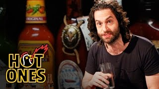 Download Chris D'Elia Turns Into DJ Khaled While Eating Spicy Wings | Hot Ones Mp3 and Videos