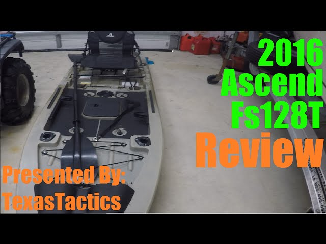 2016 Ascend Fs128T Review - Bass fishing Vlog