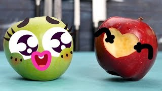 THESE PRETTY FRUITS ARE SO FUNNY! TRY NOT TO LAUGH - 24/7 DOODLES