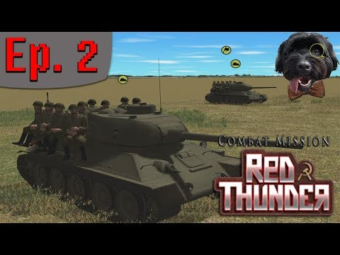 Combat Mission: Red Thunder - Soviet Campaign. Ep2. Desperate Defence of Hill 124