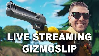 Fortnite with Gizmo! 15,000 V-Buck + Galaxy Skin Giveaway Today!