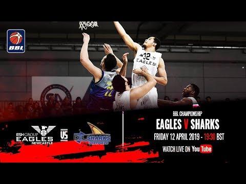 Newcastle Eagles v Sheffield Sharks - BBL Championship - 12/04/19