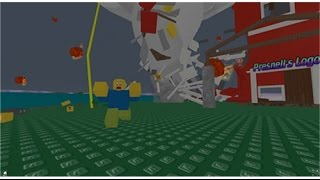 Roblox part 1 Natural Disaster Survival Map I SURVIVING NATURAL DISASTERS LIKE A PRO