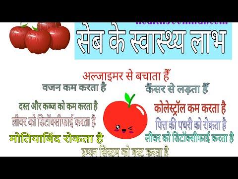 सेब के स्वास्थ्य लाभ : Health Benefits of Apple in Hindi