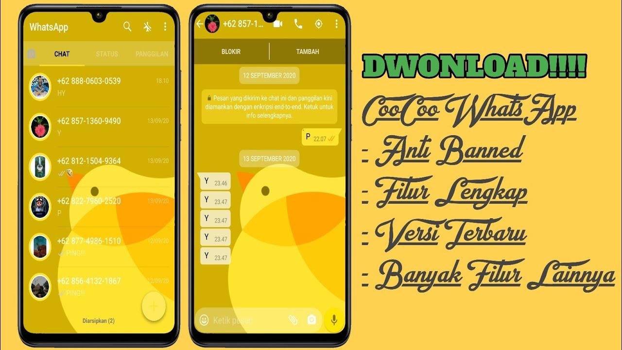 Cara Dwonload Coocoo Whatsapp Apk Versi Terbaru 2020 Youtube