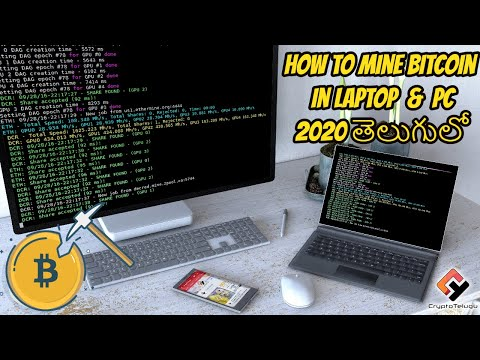 mining cryptocurrency 2021 laptop