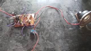 Superregenrative FM Radio using transistors