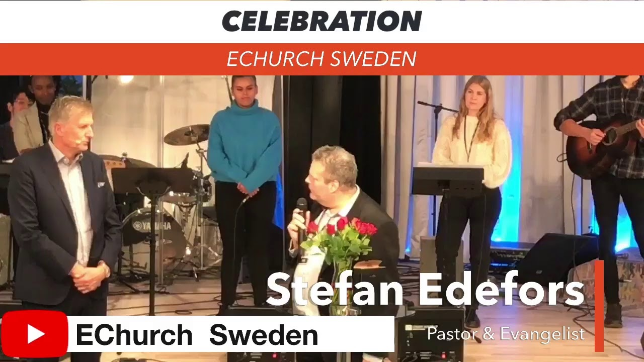 Celebration 22/11-2020 Stefan Edefors