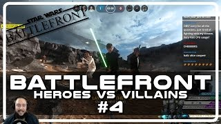 Star Wars Battlefront Heroes vs Villains with Psynaps #4 (Gameplay Funny Moments)