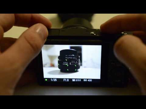 Sony RX100 Unboxing, Hands On and Menu Review