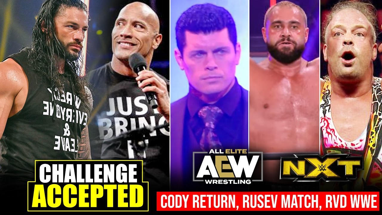 Roman Reigns ACCEPTS The Rock's Challenge.. Cody RETURN, RVD WWE, Miro Debut - WWE NXT Highlights