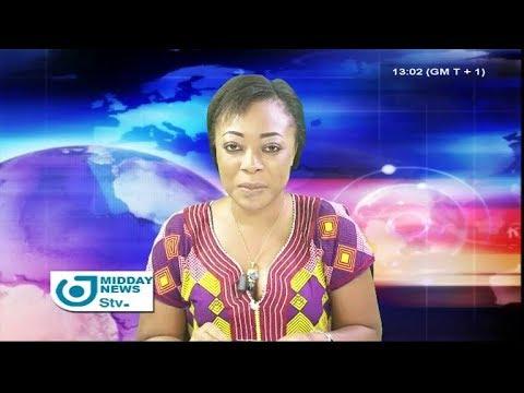 STV MIDDAY NEWS 01:00 PM - Friday 16th February 2018 - Anchor : Darling FEUDJIO
