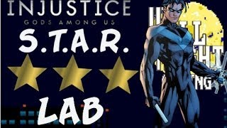 STAR Labs Mission #101-110 Nightwing - 3 STARS ☆☆☆ - INJUSTICE: Gods Among Us