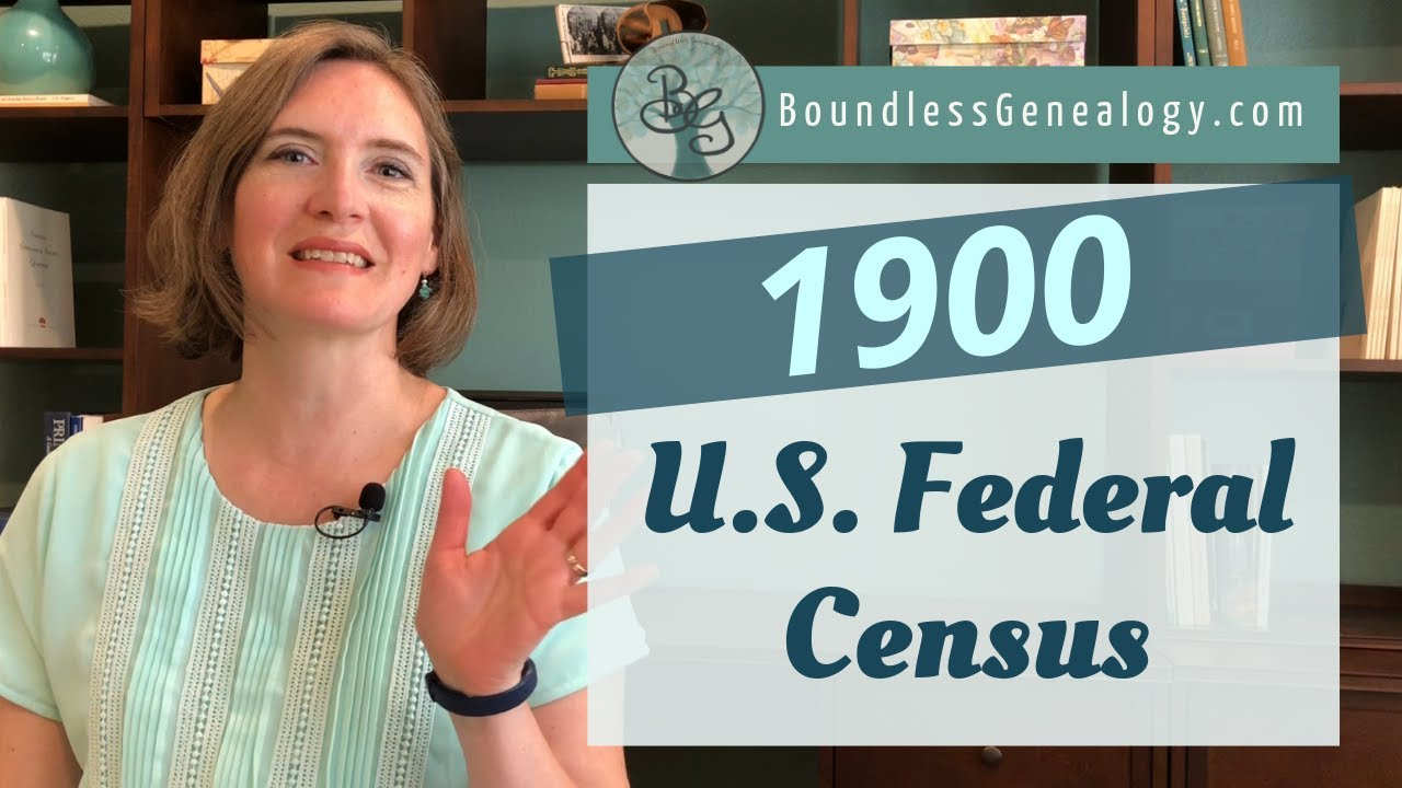 Genealogy Clues in the 1900 U S  Federal Census – Boundless