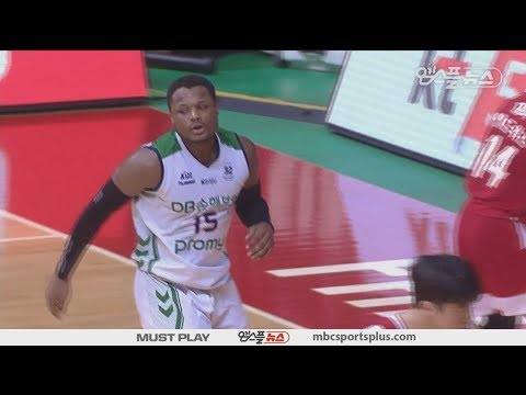 【HIGHLIGHTS】 Deonte Button H/L | Orions vs Promy | 20180217 | 2017-18 KBL