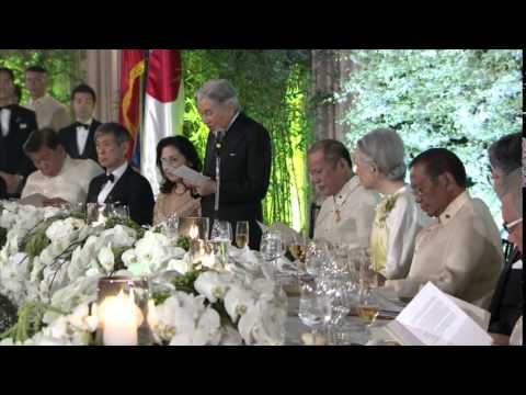 State Dinner in Honor of Their Majesties The Emperor and Empress of Japan