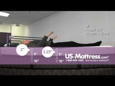 Stearns & Foster Lux Estate Hybrid Point Robinson Luxury Ultra Plush Mattress Comfort Depth w/Jill