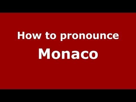 How to pronounce Monaco (Italian/Italy) - PronounceNames.com
