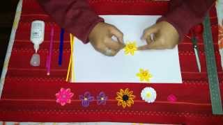 21. How to Make Daffodil Quilling Flower