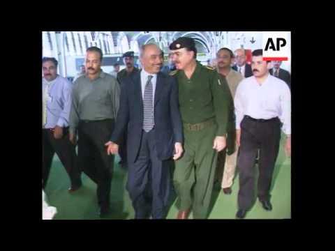 Iraq - Jordan flies in aid to Baghdad