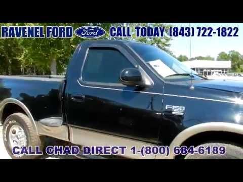 Ford F150 Xlt >> 2003 FORD F-150 XLT REGULAR CAB 4X4 Charleston SC - YouTube