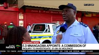 Two people confirmed dead in White City following looting of shops