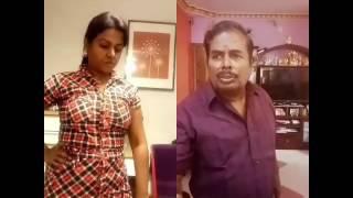 Mgr Nambiyar dubsmash by dad and daughter