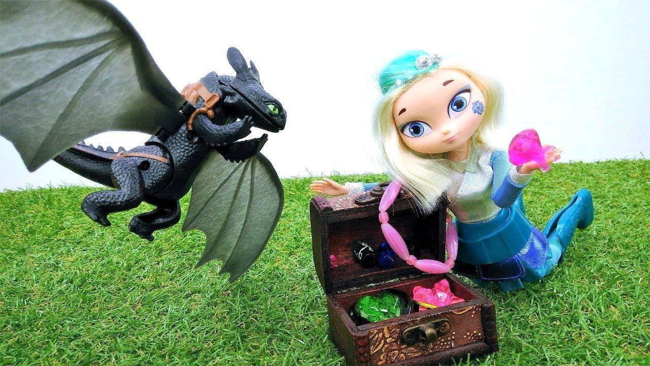 Сказочный Патруль - Игрушечный дракон подарил Снежке ...
