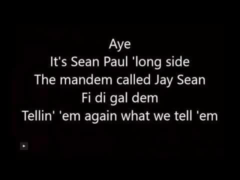 Jay Sean  ft Sean Paul  -make my love go 👌🏻😉