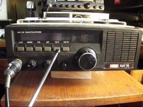 Ratheon Ray 78 VHF - FM Radiotelephone Marine Radio