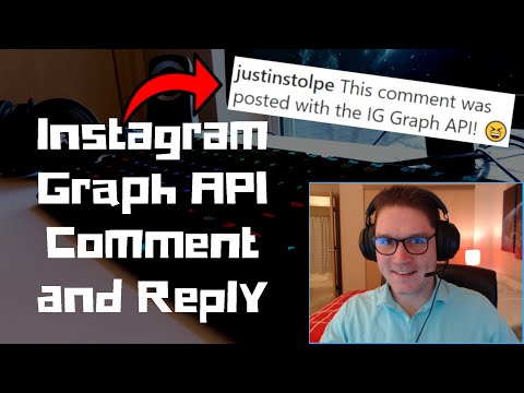 Instagram Graph API Comment And Reply