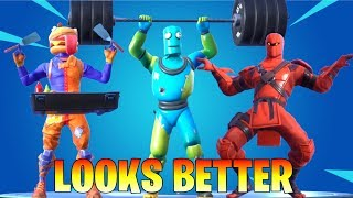 TOP 120 FORTNITE DANCES & EMOTES LOOK BETTER WITH THESE SKINS! (Fortnite Battle Royale)