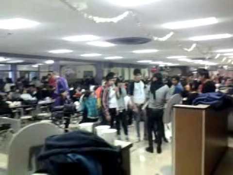 Lockdown in Burges high school  cafeteria