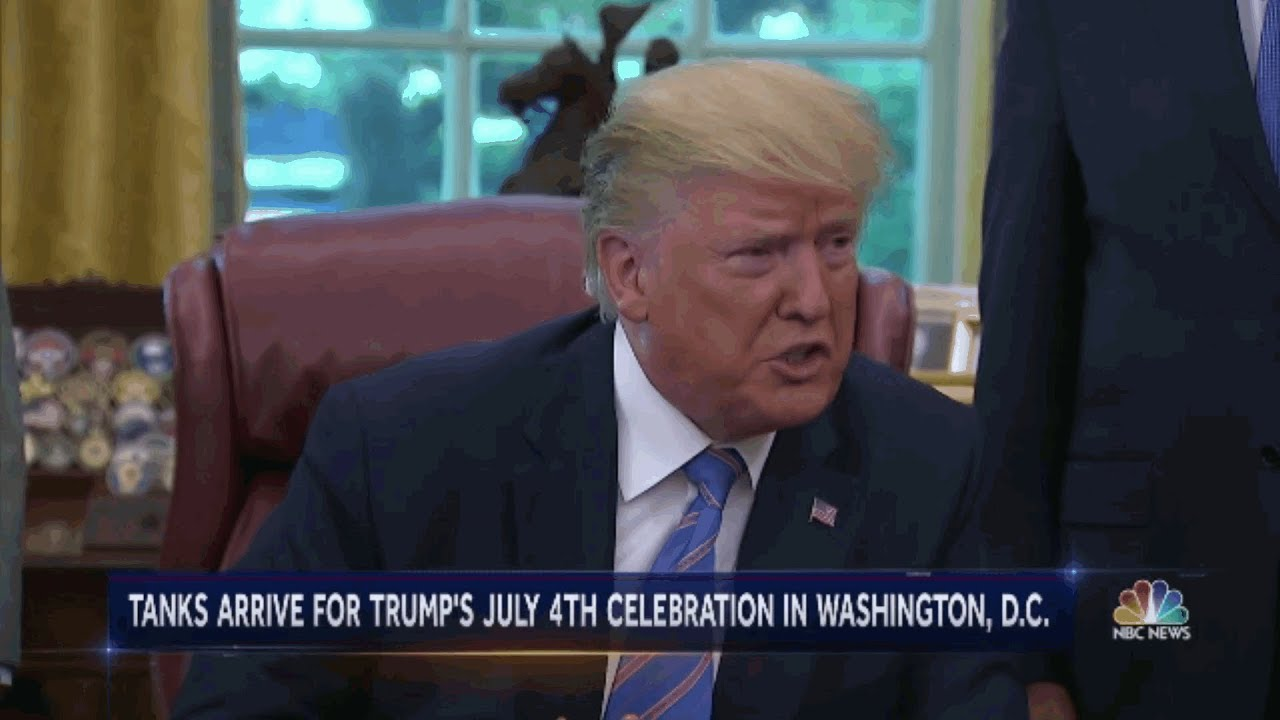 Conservative Twins - Boycott President Trump's 4TH Of July Parade Trends On Twitter