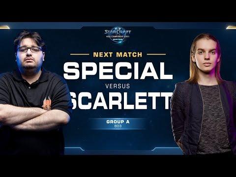 Scarlett vs SpeCial ZvT - Ro16 Group A - WCS Winter Americas