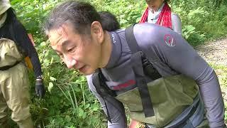 恒例の北秋田の岩魚釣り。9月上旬。釣り納めということもあり、5〜6人...