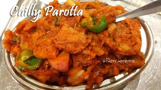 Chilli Parotta / How to make Chilli Parotta / Quick Dinner Recipes